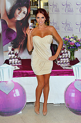 Launches her debut fragrance 'Amy Childs' at a Boots Store in London, Wednesday August 15, 2012. Photo By Chris Joseph/i-Images