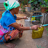 Collecting Water by Soe part of her No Water Series