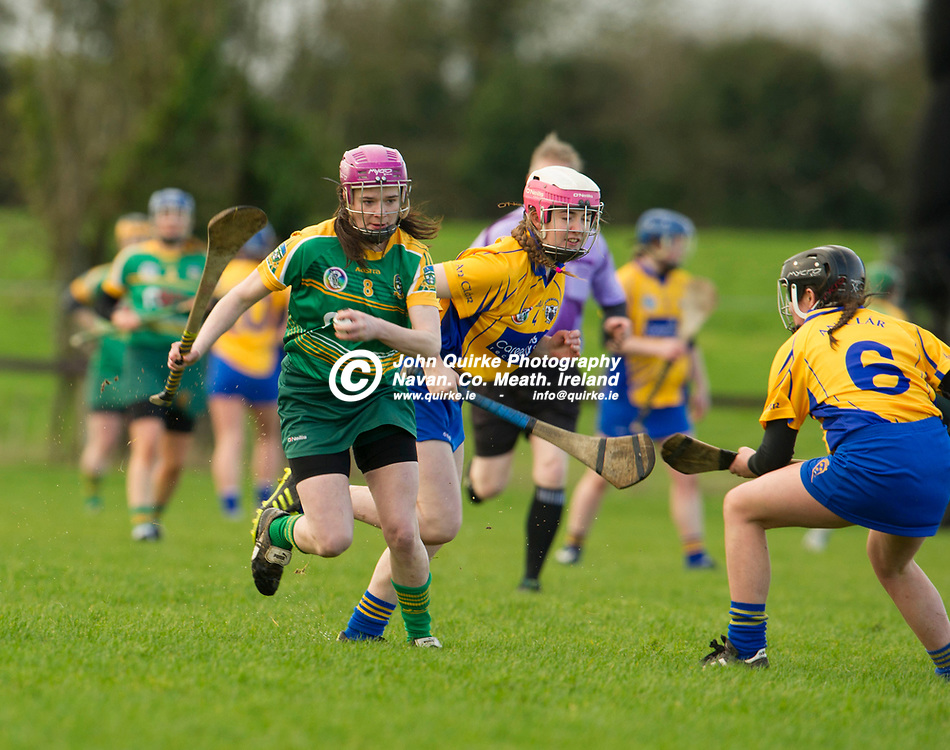 26-02-17. Meath v Clare - Littlewoods Ireland National Camogie League Division 1 Group 2 at Kilcloon.<br /> Katie Hackett, Meath.<br /> Photo: John Quirke / www.quirke.ie<br /> ©John Quirke Photography, Unit 17, Blackcastle Shopping Cte. Navan. Co. Meath. 046-9079044 / 087-2579454.