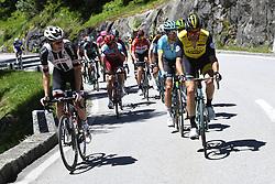 June 14, 2018 - Gommiswald, Suisse - GOMMISWALD, SWITZERLAND - JUNE 14 : ANDERSEN Soren Kragh of Team Sunweb, WYNANTS Maarten (BEL)  of Team Lotto NL - Jumbo during stage 6 of the Tour de Suisse cycling race, a stage of 186 kms between Fiesch and Gommiswald on June 14, 2018 in Gommiswald, Switzerland, 14/06/2018 (Credit Image: © Panoramic via ZUMA Press)