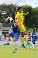 AFC Wimbledon midfielder Chris Whelpdale (11) during the Pre-Season Friendly match between Margate and AFC Wimbledon at Hartsdown Park, Margate, United Kingdom on 16 July 2016. Photo by Stuart Butcher.