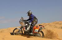 Motor - Motorsykkel: Paris-Dakar 2002. Pål Anders Ullevålseter fra Norge. <br />Foto: Eric Vargiolu, Digitalsport