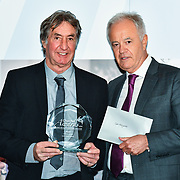 Martin Young Present Winner of Local Hero – Ged Hollyoake of the 7th annual Churchill Awards honour achievements of the Over 65's at Claridge's Hotel on 10 March 2019, London, UK.
