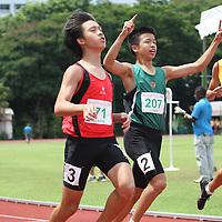 C Division Boys 100m