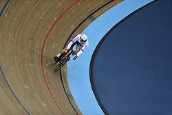 Jason Kenny of Great Britain during the Men's Sprint 1/16 Finals during day three of the Tissot UCI Track Cycling World Cup at Lee Valley VeloPark, London.