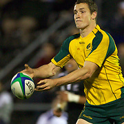 Luke Monahan, Australia, in action during the Australia V New Zealand Final match at the IRB Junior World Championships in Argentina. New Zealand won the match 62-17 at Estadio El Coloso del Parque, Rosario, Argentina. 21st June 2010. Photo Tim Clayton...