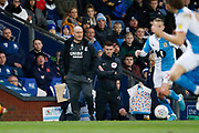 Alex Neil Manager of Preston North End during the EFL Sky Bet Championship match between Blackburn Rovers and Preston North End at Ewood Park, Blackburn, England on 11 January 2020.