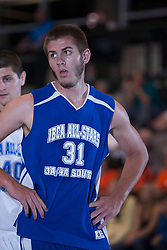 25 June 2011: Austin Halcomb at the 2011 IBCA (Illinois Basketball Coaches Association) boys all star games.