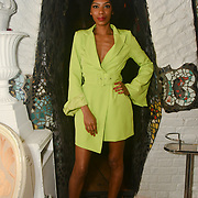 Tonique Campbell is a contestant attend The Bachelor UK 2019 launch night - The girls private screening on Channel 5 at Beach Blanket Babylon on 4 March 2019, London, UK