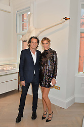 STEPHEN & ASSIA WEBSTER at a party to celebrate the launch of the new Stephen Webster Salon at 130 Mount Street, London on 18th May 2016.