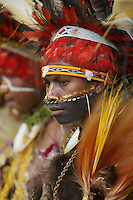 Goroka Cultural Show in the Eastern Highlands Province, Papua New Guinea.