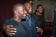 Paterson Joseph, Cyril Nri; Ray Fearon , West End opening of RSC production of Julius Caesar at the Noel Coward Theatre on Saint Martin's Lane. After-party  at Salvador and Amanda, Gt. Newport St. London. 15 August 2012.