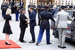May 29, 2017 - Versailles, France - Emmanuel Macron recoit Vladimir Poutine à Versailles dans le cadre d'une visite de travail - Versaillles - 29/05/2017 (Credit Image: © Visual via ZUMA Press)