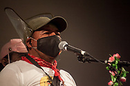 A member of the zapatist squadron introducing himself