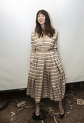 July 27, 2017 - Hollywood, California, U.S. - CAITRIONA BALFE stars in the TV Series 'Outlander.' Caitriona Balfe (born October 4, 1979) is an Irish actress and model. She is best known for her role as Claire Fraser in the Starz series Outlander, for which she won two People's Choice Awards and two Saturn Awards, and received two nominations for the Golden Globe Award for Best Actress in a Television Series Drama. (Credit Image: © Armando Gallo via ZUMA Studio)