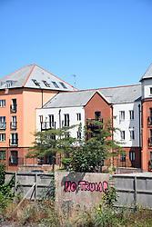 No Trump grafitti, Norwich UK 2018
