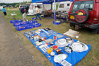 second hand car parts for sale at an auto jumble boot sale