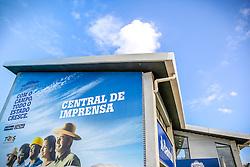 Central de Imprensa na 38ª Expointer, que ocorre entre 29 de agosto e 06 de setembro de 2015 no Parque de Exposições Assis Brasil, em Esteio. FOTO: Pedro H. Tesch/ Agência Preview