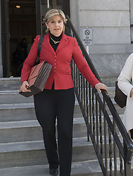 November 2, 2016 - Norristown, Pennsylvania, U.S - GLORIA ALLRED, Attorney for the women who accused Bill Cosby coming out of the Montgomery County Court House in Norristown Pa (Credit Image: © Ricky Fitchett via ZUMA Wire)