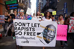 September 29, 2018 - Philadelphia, Pennsylvania, USA - Protestors take part in the March to End Rape Culture, an annual event in Philadelphia. By coincidence, the march was scheduled two days after the U.S. Senate held a hearing to investigate sexual assault charges against Supreme Court nominee Brett Kavanaugh by Dr. Christine Blasey Ford. (Credit Image: © Michael Candelori/ZUMA Wire)