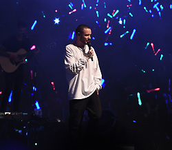 Liam Payne is seen performing at the Global Village in Dubai for Virgin Radio's 10th birthday party, also seen onstage was Liam's backing dancer Chloe Ferns who hit the headlines today for partying with Liam in his hotel bar. 30 Mar 2018 Pictured: Liam Payne, Chloe Ferns. Photo credit: Neil Warner/MEGA TheMegaAgency.com +1 888 505 6342