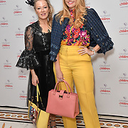 Rhea Elliot-Jones, Ainsley Kerr attends the Children's charity hosts fashion and beauty lunch event, with live entertainment at The Dorchester, London, UK. 12 October 2018.