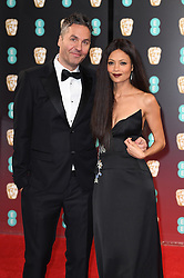 Thandie Newton and husband Ol Parker attending the EE British Academy Film Awards held at the Royal Albert Hall, Kensington Gore, Kensington, London. Picture date: Sunday February 12, 2017. Photo credit should read: Doug Peters/ EMPICS Entertainment