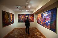 Upholstery art museum Maximo Laura