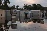 Aug. 31, 2017, Business in Vidor Texas. Hurricane Harvey was downgraded to a tropical storm when it flooded Vidor, Texas.