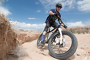 Anthony Cupaiulo (First Tracks Productions). <br /> Cathedral Gorge State Park.  Nevada.
