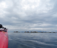 Kayaking past Lista, Listalandet