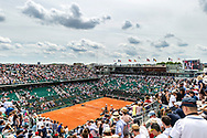 Ambiance general view of court Chartier during the Roland Garros French Tennis Open 2018, day 8, on June 3, 2018, at the Roland Garros Stadium in Paris, France - Photo Pierre Charlier / ProSportsImages / DPPI