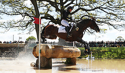 Vanir Kamira ridden by Piggy French on the Cross Country during day four of the 2019 Mitsubishi Motors Badminton Horse Trials at The Badminton Estate, Gloucestershire. PRESS ASSOCIATION Photo. Picture date: Saturday May 4, 2019. See PA story EQUESTRIAN Badminton. Photo credit should read: David Davies/PA Wire