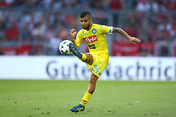 August 1, 2017 - Munich, Germany - Lorenzo Insigne of Napoli durign the first Audi Cup football match between Atletico Madrid and SSC Napoli in the stadium in Munich, southern Germany, on August 1, 2017. (Credit Image: © Matteo Ciambelli/NurPhoto via ZUMA Press)