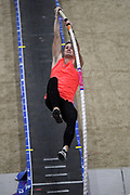 Devin King ties for seventh in the elite men's competition at 18-0 1/2 (5.50m) during the National Pole Vault Summit, Friday, Jan. 17, 2020, in Reno, Nev.
