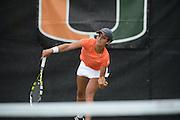 2014 Miami Hurricanes Women's Tennis vs Oklahoma