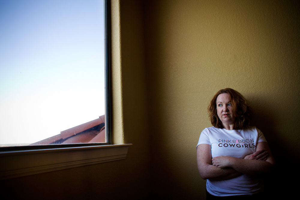 """Cynthia Mason of Volente, Texas, reduced her mortgage payments through the federal Home Affordable Modification Program (HAMP) but is still underwater with debt payments. The 49-year-old former school secretary is battling cancer and has legal expenses, credit card debt, and a car loan in addition to the mortgage. """"This was supposed to be our dream home, but it's turned into a nightmare,"""" said Mason."""