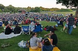 Hamden Free Summer Concert Series Field & Audience View