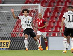 Axel Witsel (Belgien) under UEFA Nations League kampen mellem Danmark og Belgien den 5. september 2020 i Parken, København (Foto: Claus Birch).