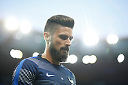 France's forward Olivier Giroud reacts during the FIFA World Cup Russia 2018, Qualifying Group A football match between France and Netherlands on August 31, 2017 at the Stade de France in Saint-Denis, north of Paris, France - Photo Benjamin Cremel / ProSportsImages / DPPI