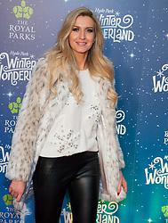 Tallia Storm, Victoria Brown, and Friend attend Winter Wonderland Red Carpet Arrivals at Hyde Park in London, 21 November 2018.<br /><br />21 November 2018.<br /><br />Please byline: Vantagenews.com
