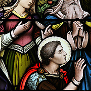 Cathedral of St Canice stained glass, Kilkenny (Cill Chainnigh), Ireland (September 2007)