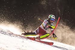 Michaela Dygruber (AUT) during the Ladies' Slalom at 56th Golden Fox event at Audi FIS Ski World Cup 2019/20, on February 16, 2020 in Podkoren, Kranjska Gora, Slovenia. Photo by Matic Ritonja / Sportida
