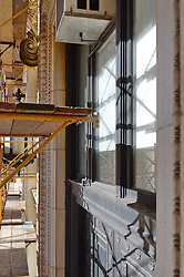 New Haven Courthouse GA 23 Phase 1. Project No: BI-JD-299.Architect:     Contractor: Kronenberger Restoration.James R Anderson Photography   New Haven CT   photog.com.Date of Photograph: 31 January 2013.Camera View: