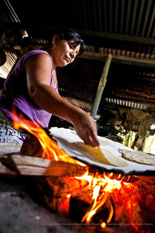 Breakfast in Doña Demetria's ranch. Tapachula. Mexico.