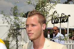 SAM BRANSON at the Cartier International Polo at Guards Polo Club, Windsor Great Park on 27th July 2008.<br /> <br /> NON EXCLUSIVE - WORLD RIGHTS