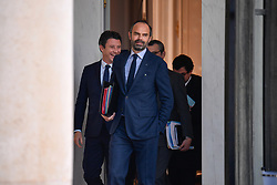 November 21, 2018 - Paris, Ile-de-France (region, France - Edouard Philippe, Prime Minister in office at the exit of the Council of Ministers on Wednesday, November 21, 2018 at the Palais de l'Elysee (Credit Image: © Julien Mattia/Le Pictorium Agency via ZUMA Press)