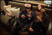 EMILY HALL; LUCY DALEY, Myla 15th Anniversary party!   The House of Myla,  8-9 Stratton Street, London