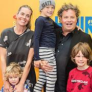 NLD/Breda/20160925 - Premiere Hair, Dirk Zeelenberg, partner Suus en kinderen