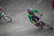Cruiser - 40-44 Men #216 (O'BRIEN Tim) RSA at the 2018 UCI BMX World Championships in Baku, Azerbaijan.